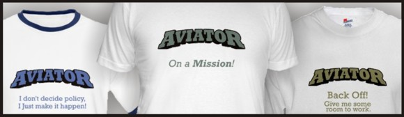 Aviator T-shirts for sale