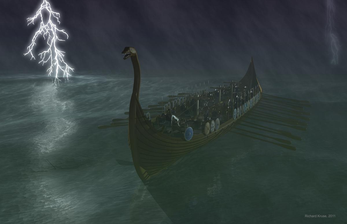 Website of Richard KruseViking Ship Storm