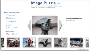 Image puzzle game.