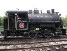 Flagg Coal 0-4-0 Steam Locomotive side view