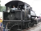 Little River 0-4-0 Steam Locomotive cab