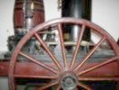 Stevens locomotive wheel