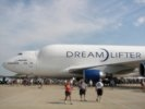 Boeing 747 Dreamlifter port side view