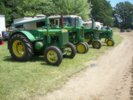 John Deere Antique Tractors