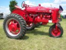 Farmall propane powered antique tractor
