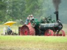 Case Steam Tractor Plowing Demonstration