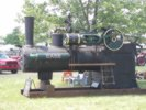 Stationary Case Steam Powered Engine