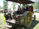 Steam engine from rear