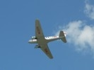 DC-2 flying