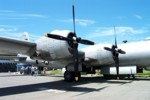 B-29 wing and engines