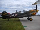P-40 Warhawk fighter aircraft.
