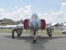 Front view of F-4 Phantom at Oshkosh