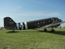 Bones C-47 Transport with D-Day markings