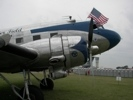 Candler Field Express DC-3 engine nacelle