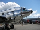 Engine nacelle of DC-3 Airliner Esther Mae