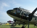Closeup of Tico Belle C-47 Transport