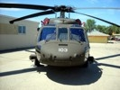 UH-60 Blackhawk front view.