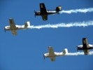 Formation of planes at Oshkosh.