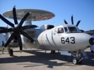 E-2C Hawkeye Airborne Early Warning (AEW) aircraft.