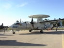 E-2 Hawkeye Navy Airborne Early Warning (AEW) aircraft.