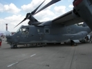 CV-22 Osprey on display