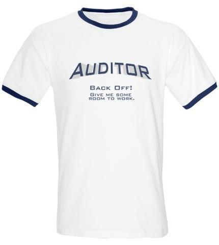Auditing t-shirt