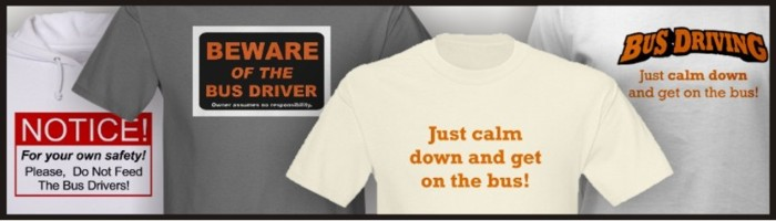 Bus Driver t-shirts for sale