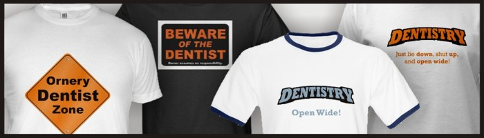 Dentist t-shirts for sale