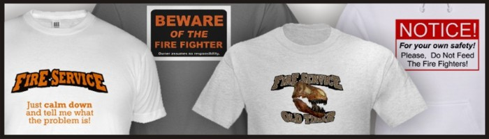 Fire Service t-shirts for sale