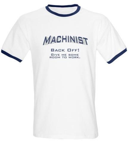 journeyman machinist. machinists