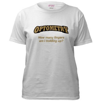 Optometrist t-shirt design